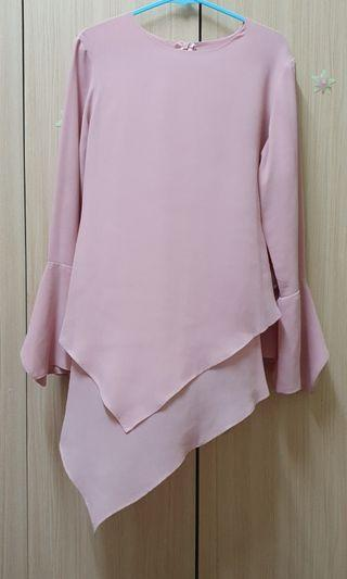 Arared Pink Top Size S (free Lowela Top Size XS)