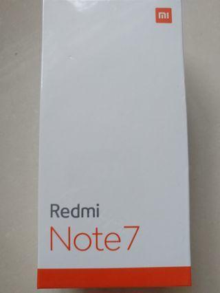 [BNIB Blue] Xiaomi Redmi Note 7 Local Set: 4gb + 64gb