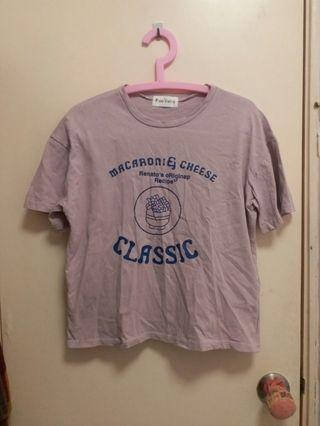 粉紅色T-shirt 女裝上衣