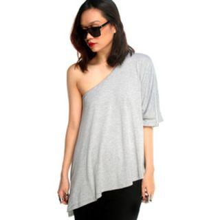 Lucyd Acyd Prism Tee in Grey