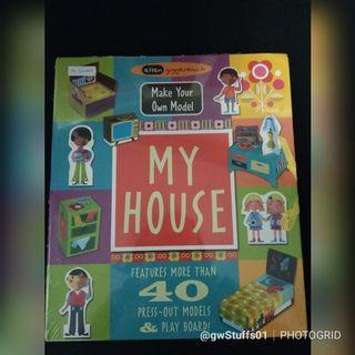 📚New📚 Buku My House Make Your Own Model