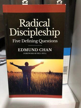 🚚 Radical Discipleship - five defining questions. By Edmund Chan