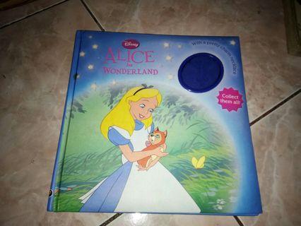Disney books alice in wonderland