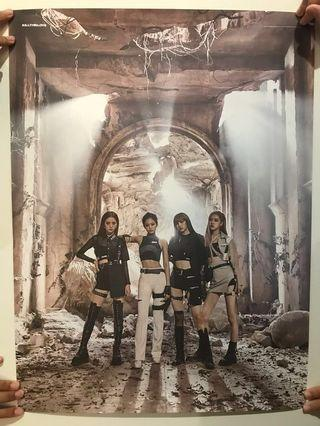 BLACKPINK Kill this love Poster !! (DOUBLE-SIDED)