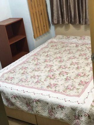 雙人床墊床架