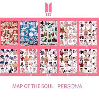 BTs map of the soul persona sticker