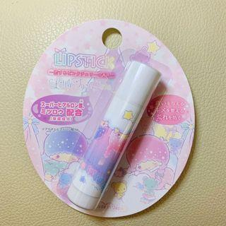 Little Twin Stars Lipstick Lip Balm Protector Moisturiser (Romantic Pink Cherry)