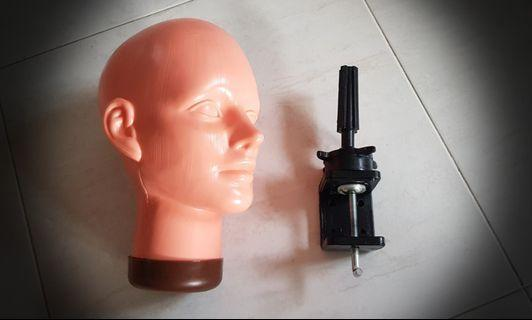 Mannequin Head With Stand