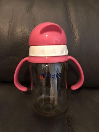 Richell 200ml PPSU 吸管型奶瓶