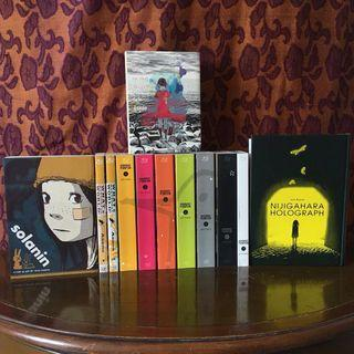 Inio Asano Manga Collection - Goodnight Punpun, Solanin, Nijigahara Holograph, What a Wonderful World & a girl on the shore