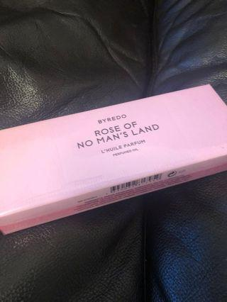 Byredo rose on no man's land Perrin oil LIMITED EDITION NEW