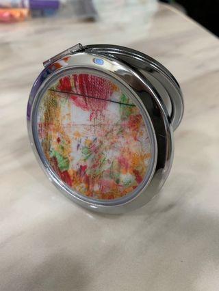 Personalised customised compact pocket mirror