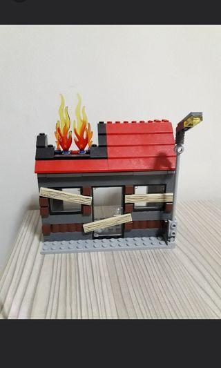 Lego City Fire House Accessories