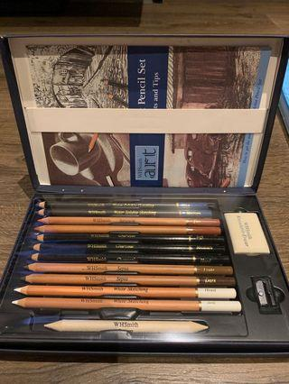 WHSmith artist pencil set