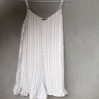 stripe jumpsuit - cotton on