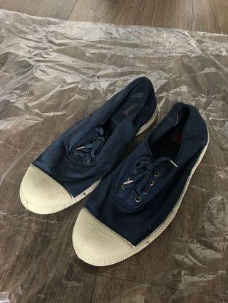 Bensimon blue shoes