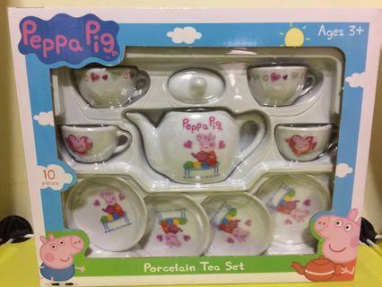 (New) Peppa Pig Porcelain Tea Set