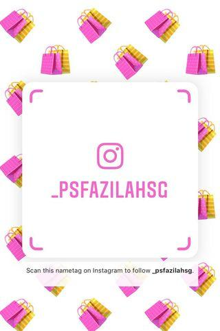 Instagram @_psfazilahsg Only Special for Shawl Publika 💘