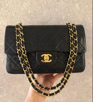 Authentic Chanel vintage small classic 2.55
