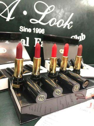 Gucci Lipstick 5pcs Set
