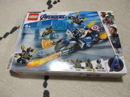 Lego Captain America: Outriders Attack 76123 BOX ONLY