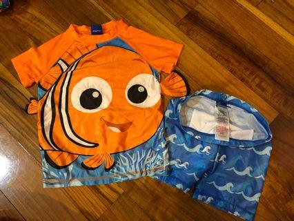 Disney Nemo swimming set