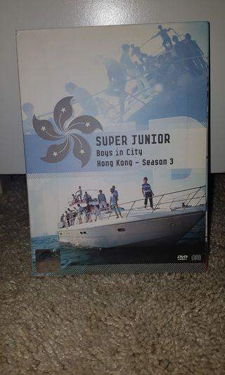 Super Junior DVD Boys in City - Hong Kong