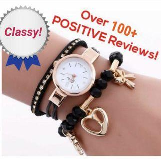 Ladies Watch with Charms