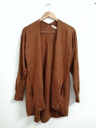 Brown Knitwear Cardigan