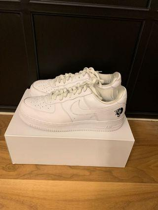 US 12: Nike Air Force White Rocafella
