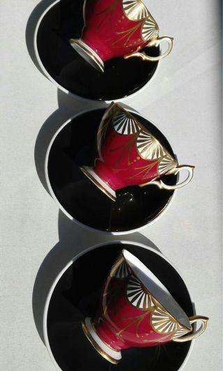 英國 Royal Albert 骨瓷茶杯連托三組