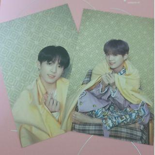 (WTT) bts album persona official postcards