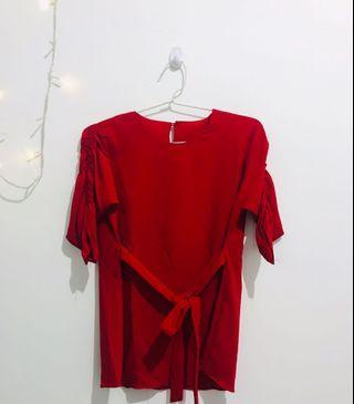 Red Blouse (100k 3pcs)