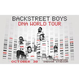 Backstreet Boys DNA World Tour in Singapore