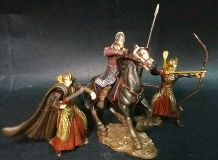 Lord of the Rings Rohan soldiers lot