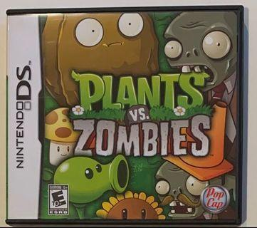 Nintendo DS Plants vs. Zombies