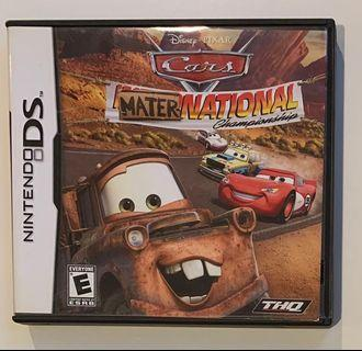 Nintendo DS Disney Cars Mater-national Championship