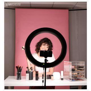 "13"" LED Diva Beauty Ring Light (Stand/Cellphone Mount/Camera Mount) Included!!!"