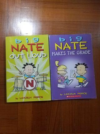 Big Nate books by Lincoln Peirce