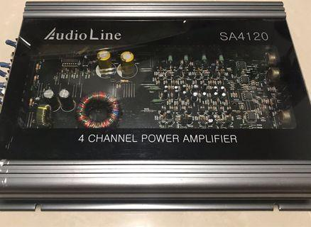 Car amplifier unit