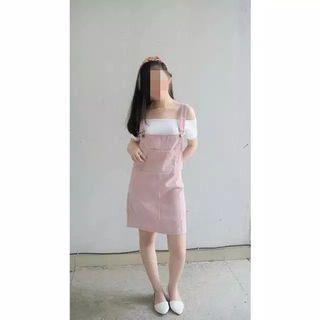 Overall pink New (jual rugi)