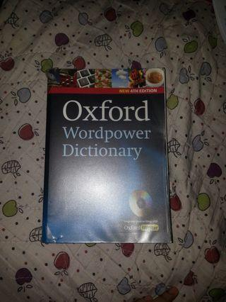 Oxford English Dictionary (4th edition)
