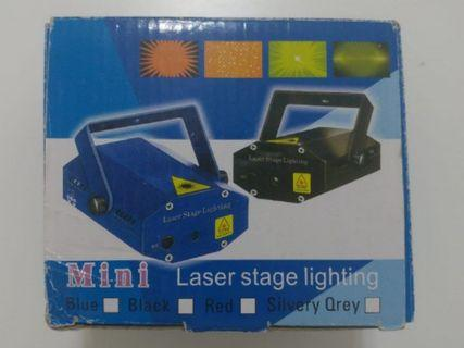 Mini Laser Stage Disco Lighting 迷你雷射燈