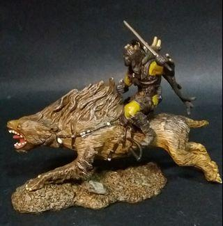 Lord Rings LOTR Armies of Middle Earth - Orc Warg rider