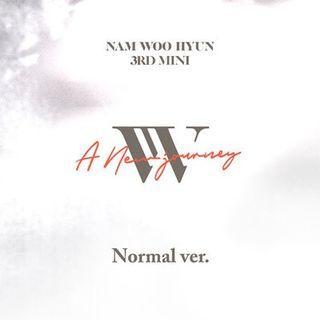 [PREORDER] Nam Woohyun - A New Journey (3rd Mini Album)