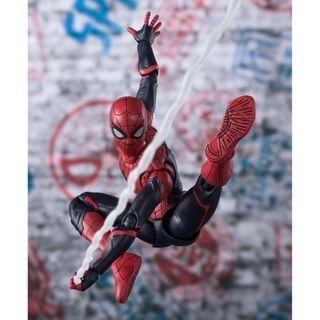 (訂貨) Bandai S.H.Figuarts/ SHF Upgrade Suit Spider Man (Spider-Man Far From Home)  蜘蛛俠 升級版(決戰千里)