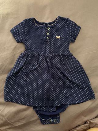 Carter's baby dress romper