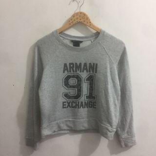 Sweater armani crop