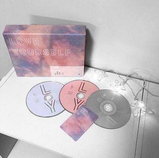 DVD BTS loveyourself tour演唱會防彈少年團