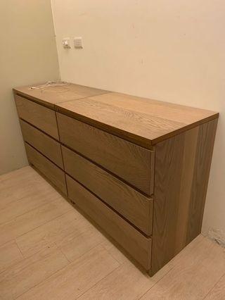 Ikea抽屜櫃/3抽(2個)- 已預訂